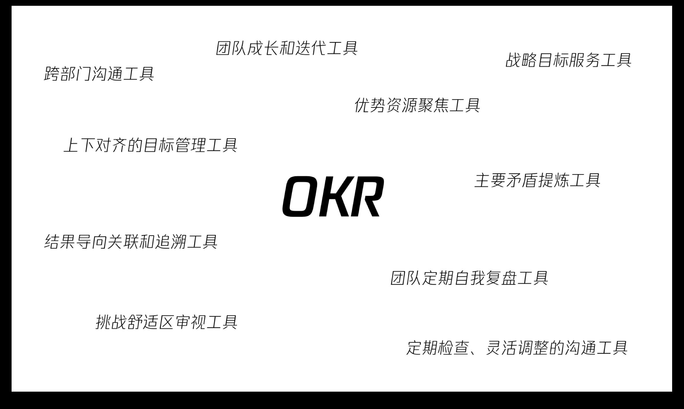 网络上常见的 OKR 定义